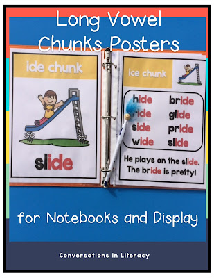 Long Vowel Phonics Posters