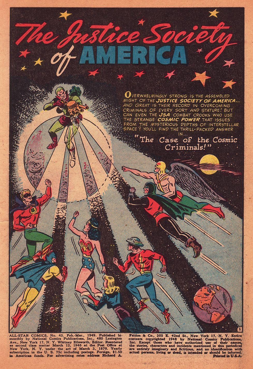 Read online All-Star Comics comic -  Issue #45 - 3