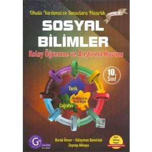Gür Yayınları 10.Sınıf Sosyal Bilimler Kolay Öğrenme ve Alıştırma Havuzu