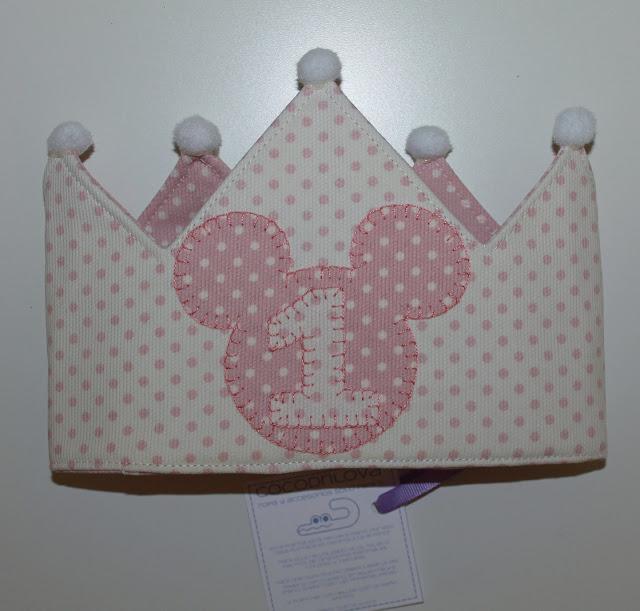 corona de cumpleaños 1 año
