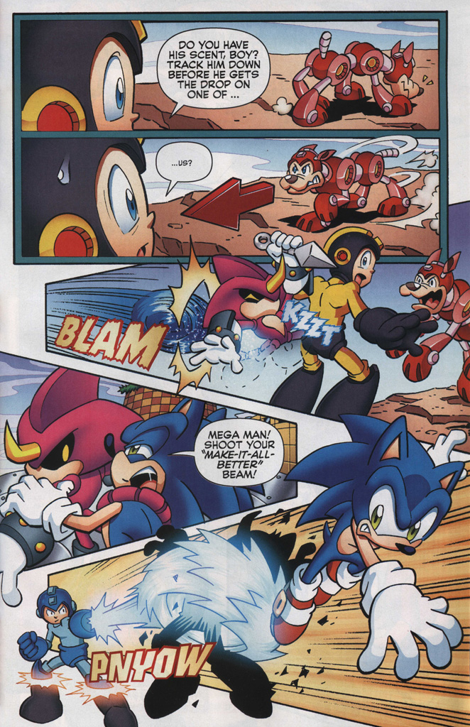 Read online Sonic The Hedgehog comic -  Issue #249 - 23