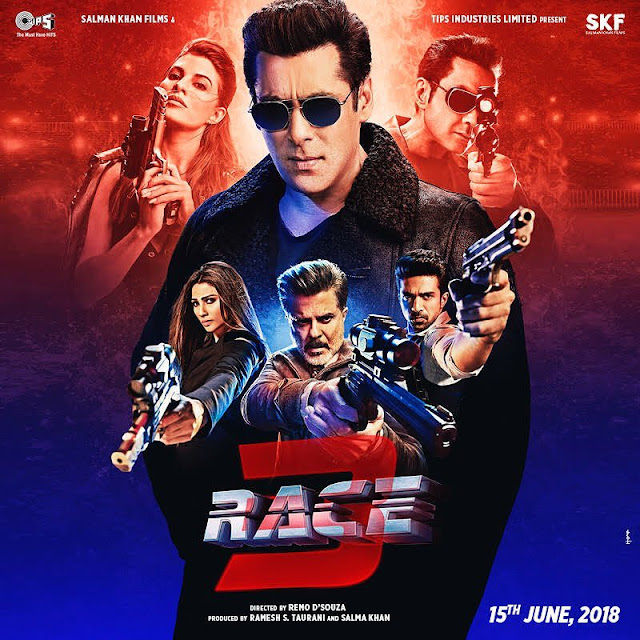 Race 3: Salman Khan Shares New Poster And Reveals Why The Trailer Hasn't Released Yet