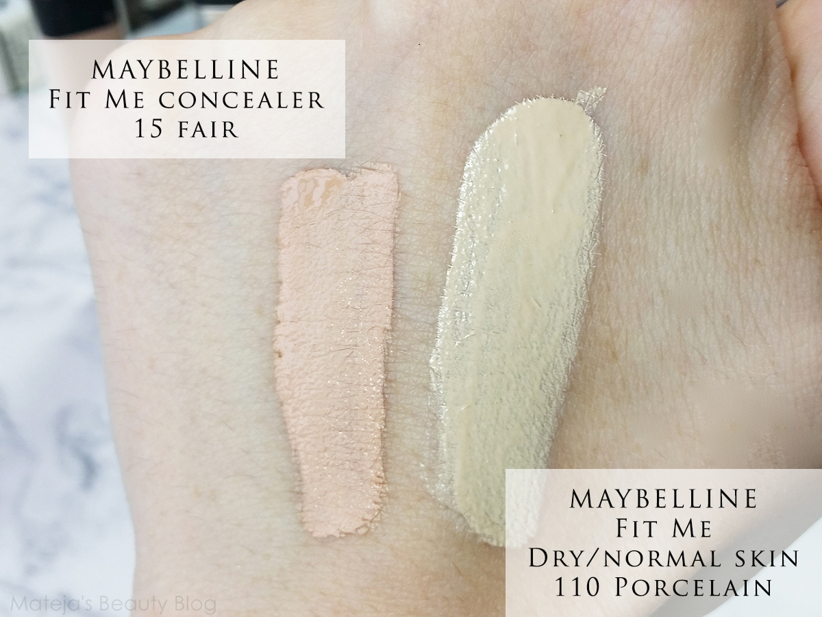 Maybelline Fit Me Foundation Luminous + Smooth 110 Porcelain ...
