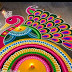 Amazing Rangoli Designs for New Year 2016
