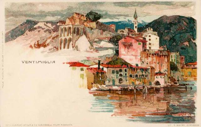 Ventimiglia, un acquerello speciale