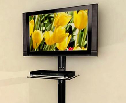 Suporte tubular de parede para TV
