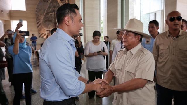 AHY: Tinggal 7 Hari, Mari Rapatkan Barisan Menangkan Prabowo-Sandi