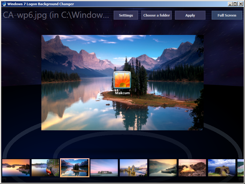 Serial key unlocker windows 7 logon background changer - Windows 7 wallpaper changer software ...