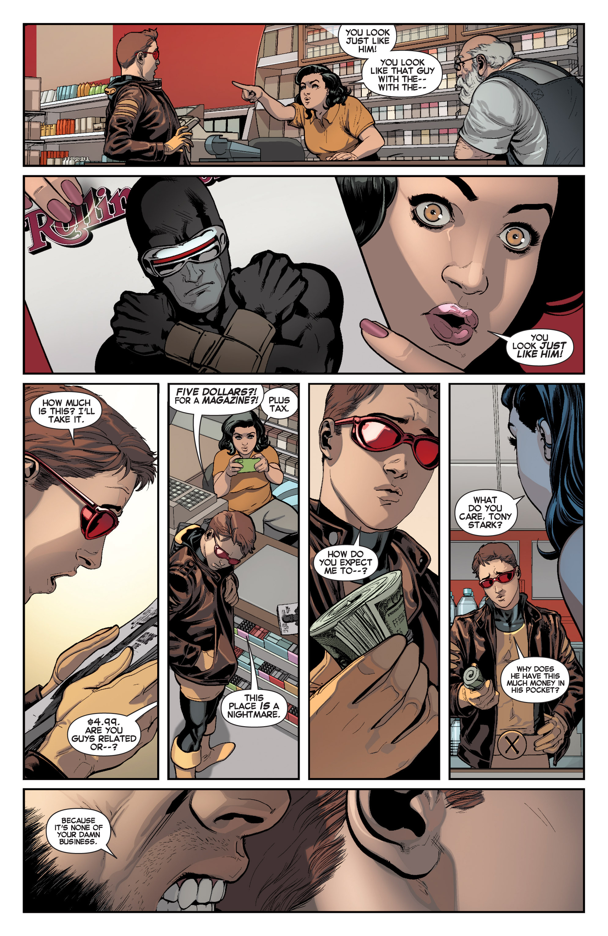 Read online All-New X-Men (2013) comic -  Issue # _Special - Here To Stay - 14