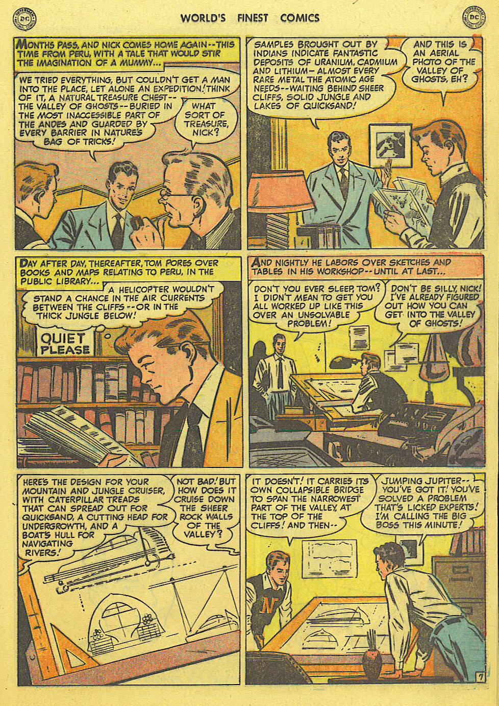 Read online World's Finest Comics comic -  Issue #49 - 36