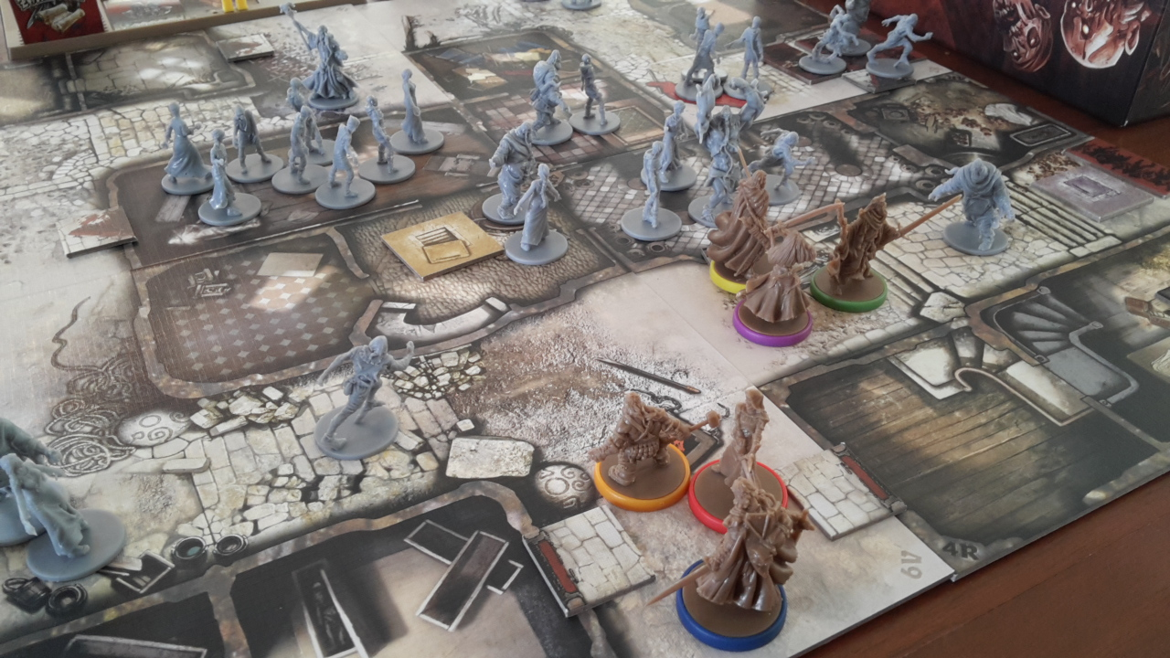 LAN Mob Tabletop Zombicide Black Plague Review The LAN Mob Blog - Digital board game table