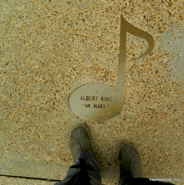 Calçada da fama do Blues em Beale Street, Memphis