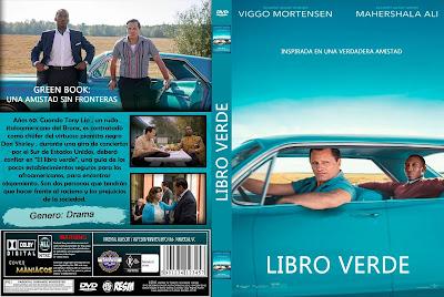 CARATULA 2 GREEN BOOK: UNA AMISTAD SIN FRONTERAS - LIBRO VERDE - GREEN BOOK [COVER DVD]