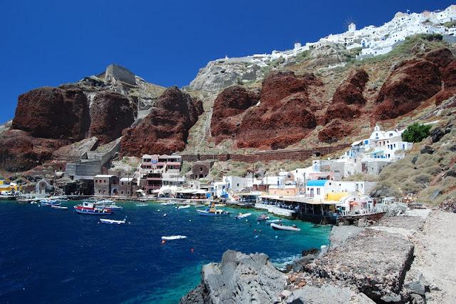 Caldeira, Santorini