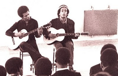 Marco On The Bass Johnny Nash Bob Marley Play A One Time Acoustic Gig In London In 1972