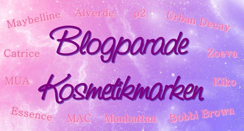 Ankündigung Blogparade Kosmetikmarken