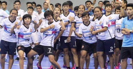 tim Jaya Kencana Angels bakal diproyeksi menjadi kerangka timnas futsal putri Indonesia