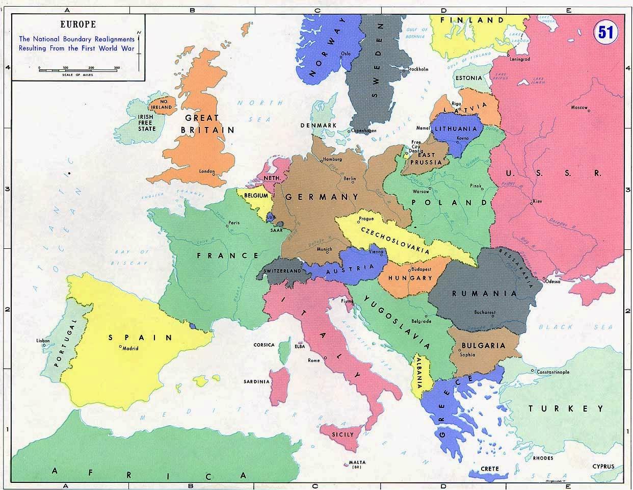 Cartina Geografica Prima Guerra Mondiale.Prima Guerra Mondiale Riassunto Telodicoio
