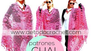 Chal Crochet Boho / Patrones