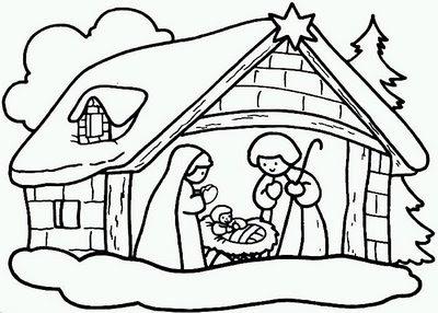 Imagens De Natal Para Imprimir Preto E Branco