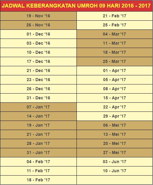 Paket Umroh Januari 2017, Awal Bulan Tahun Baru Beribadah !