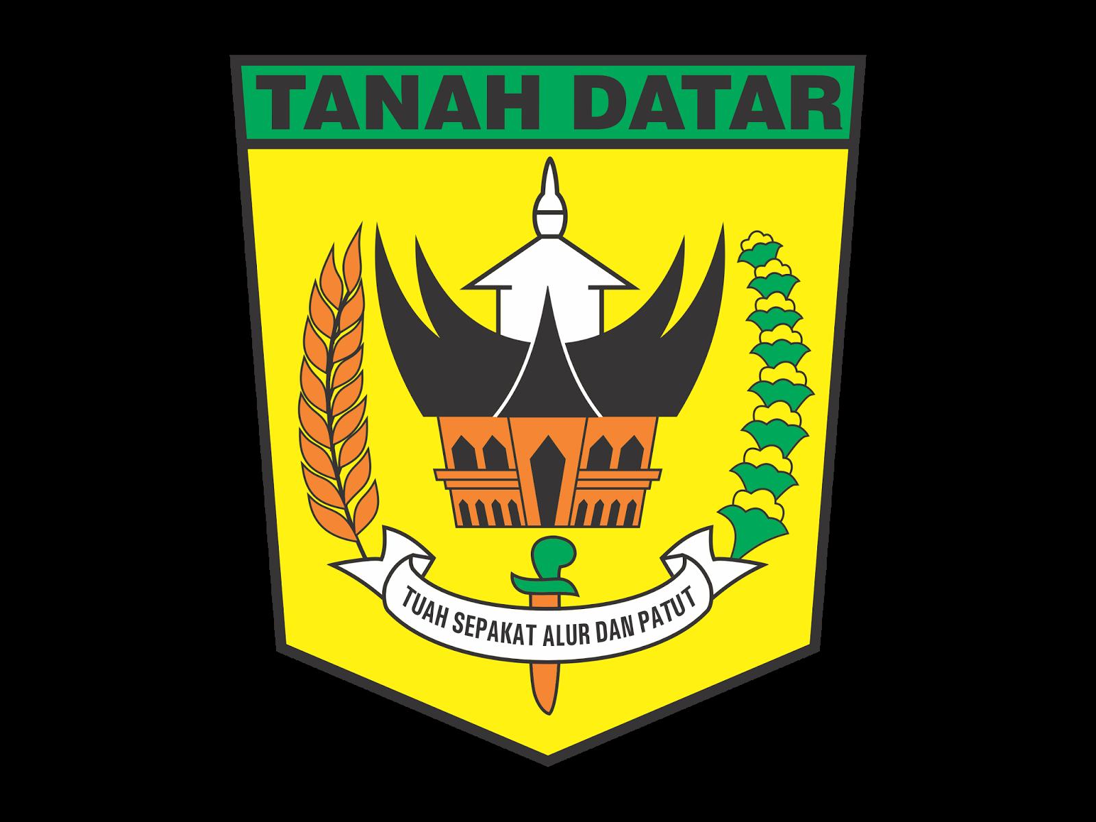 Logo Kabupaten Tanah Datar Format Cdr Png Logo Vector