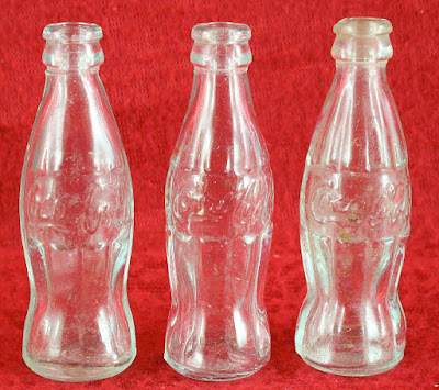 1960s mini Coke bottles photo