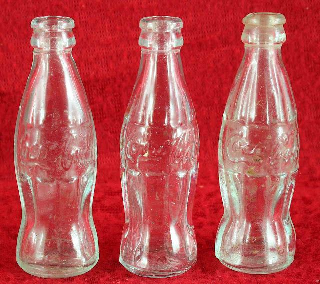 1960s mini Coke bottles photo