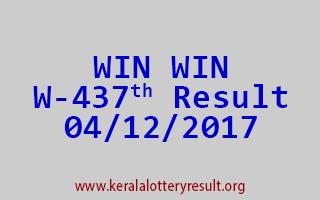 WIN WIN Lottery W 437 Results 4-12-2017