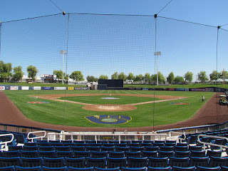 Home to center, Maryvale Baseball Park
