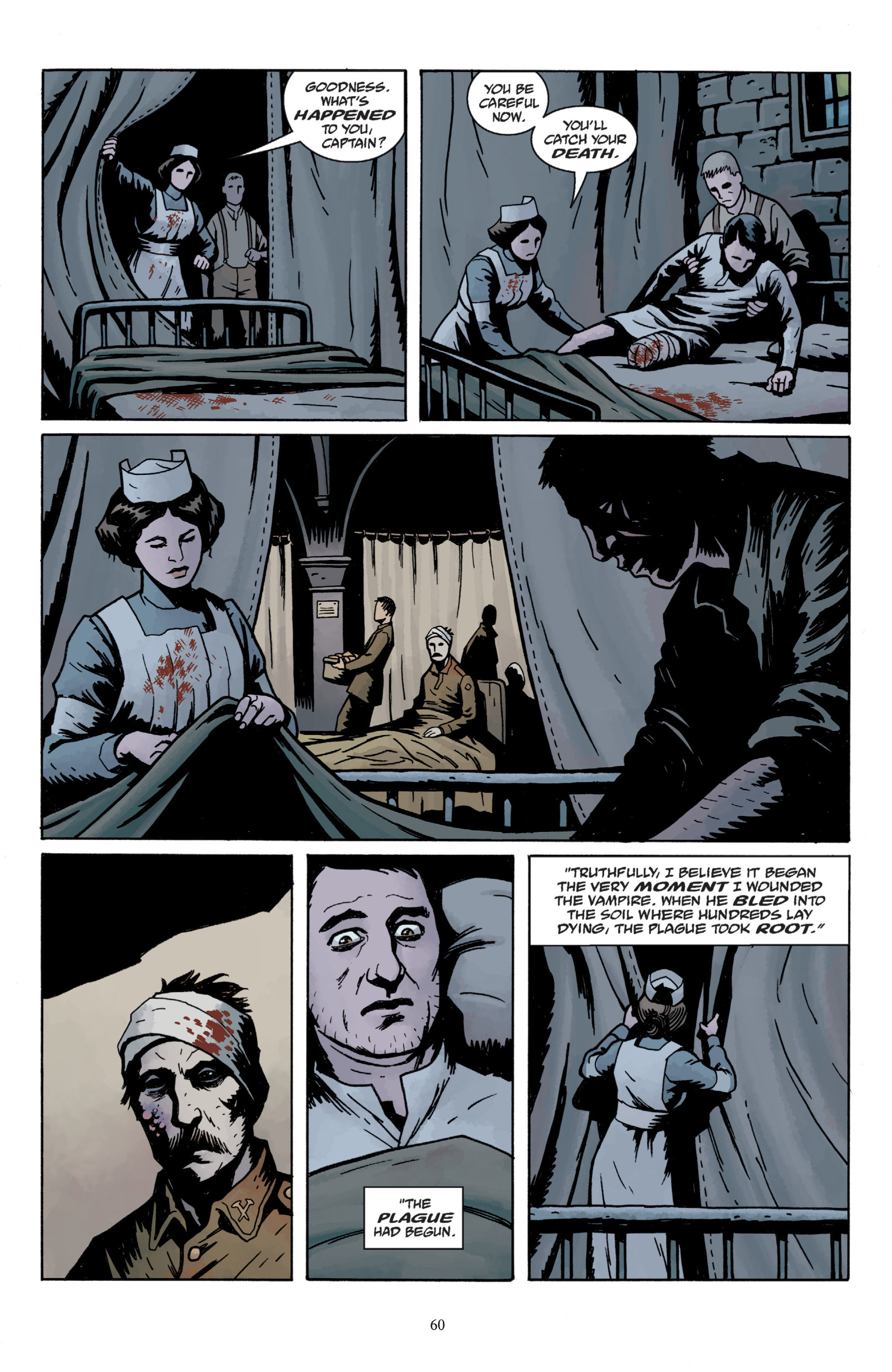 Read online Baltimore: The Plague Ships comic -  Issue # TPB - 62