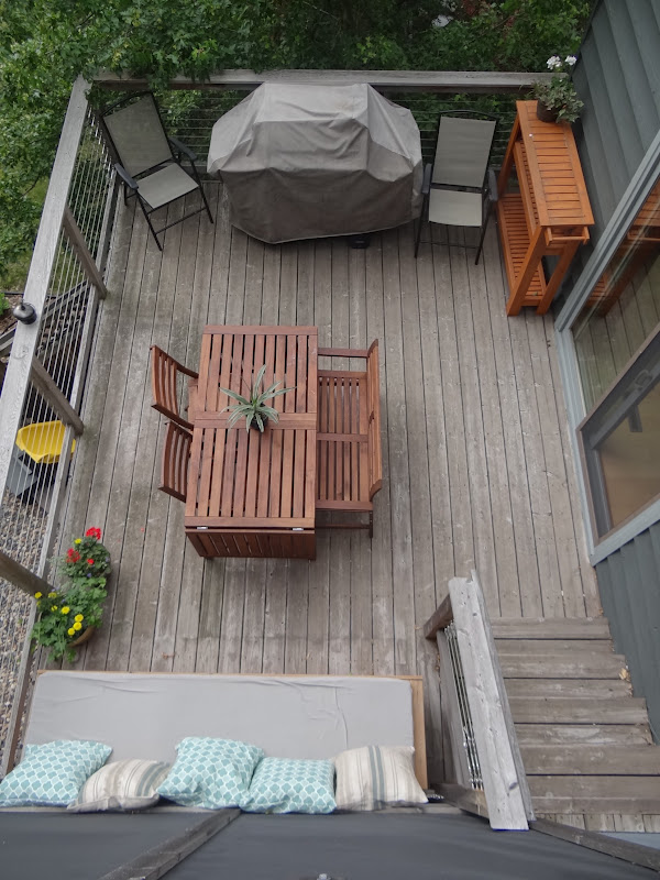 One Project at a Time - DIY Blog: Living Room Deck on Living Room Deck id=13861