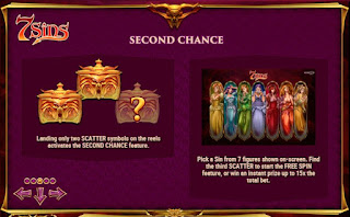 Second Chance feature in 7 Sins