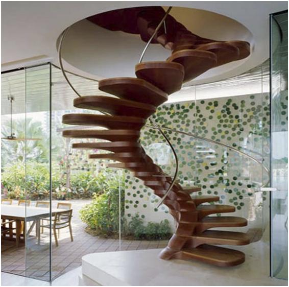 Creative Staircase Design Ideas: 10 Unique Stairs Models-Creative Staircase Designs