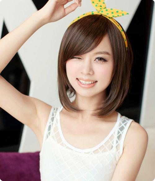Foto model rambut pendek wanita 67