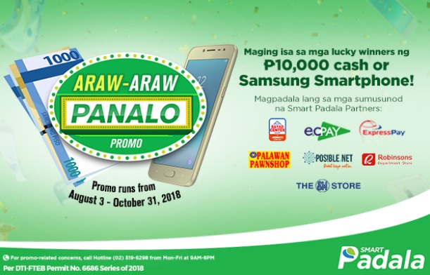 Smart Padala Money Senders Can Win Php10,000 or a Samsung Smartphone