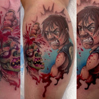 Tatuaje de The Walking Dead