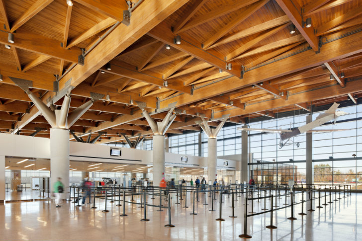 Gensler S Portland International Jetport Lands Leed Gold