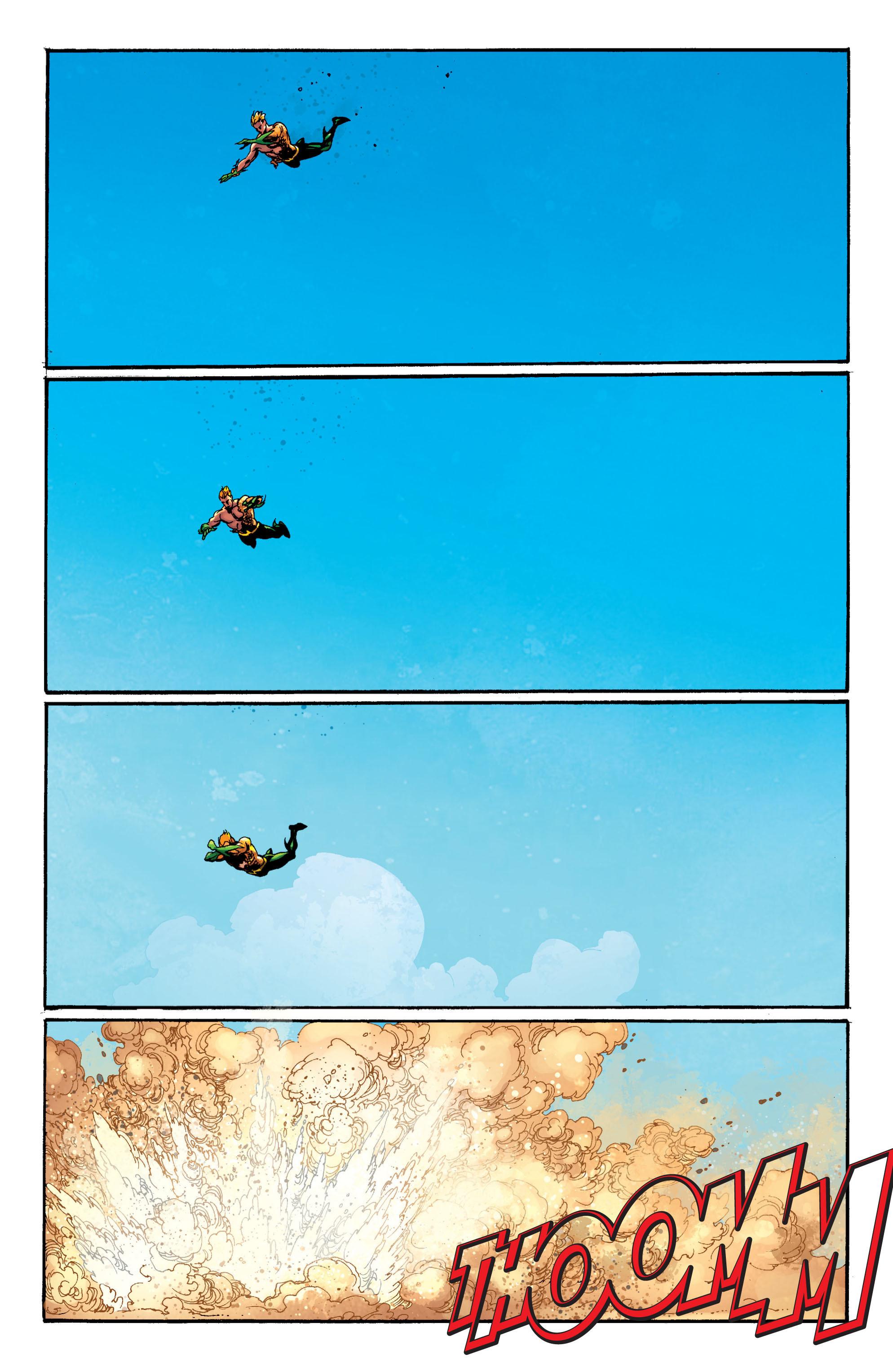 Read online Aquaman (2011) comic -  Issue #5 - 3