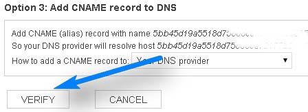 Verify MSN Webmaster Tools: