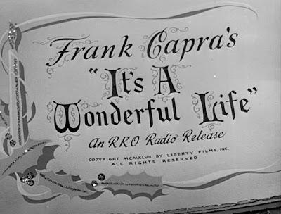It's a Wonderful Life movie title - ο τίτλος της ταινίας
