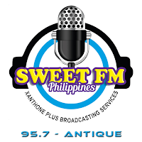 Sweet FM Antique 95.7 logo