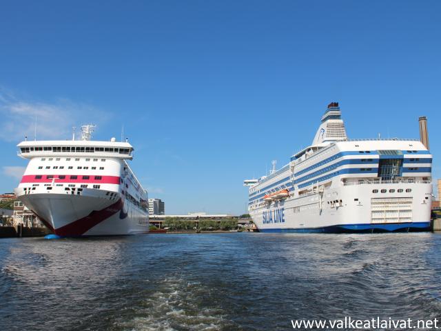Merellä @ www.valkeatlaivat.net : Kesän ensimmäisellä risteilyllä - m/s Silja Serenadella ...