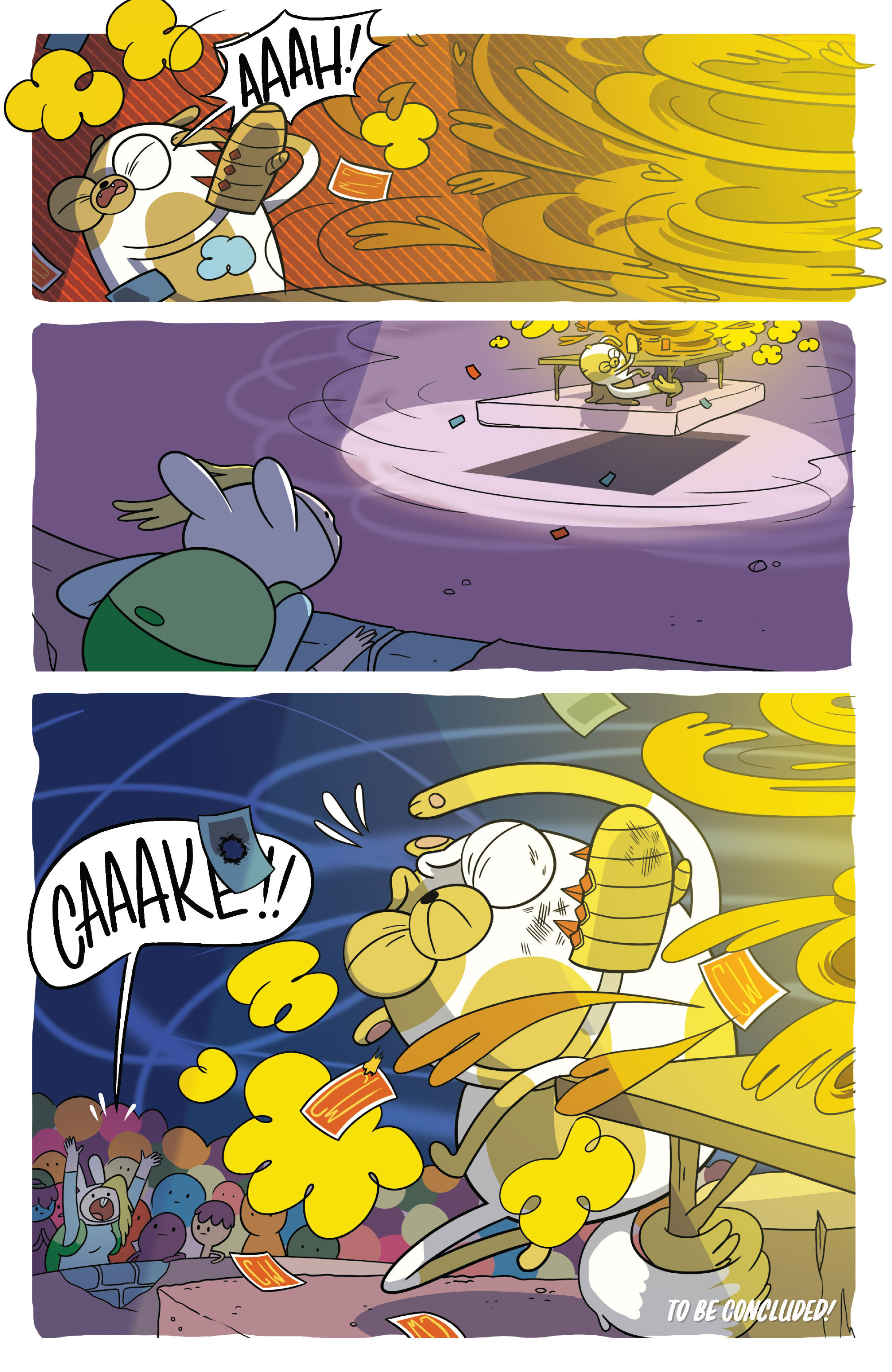 Read online Adventure Time Fionna and Cake Card Wars comic -  Issue #5 - 24