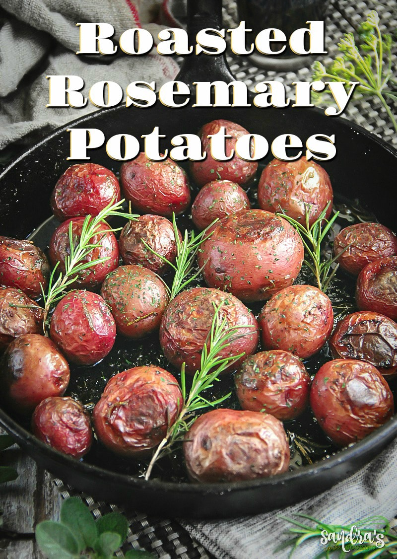 Roasted Rosemary Potatoes #recipe