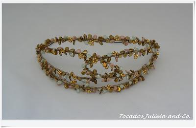 tiara de cristales