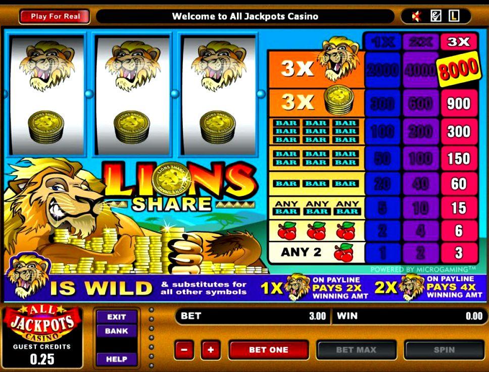 Онлайн казино от 1 цента