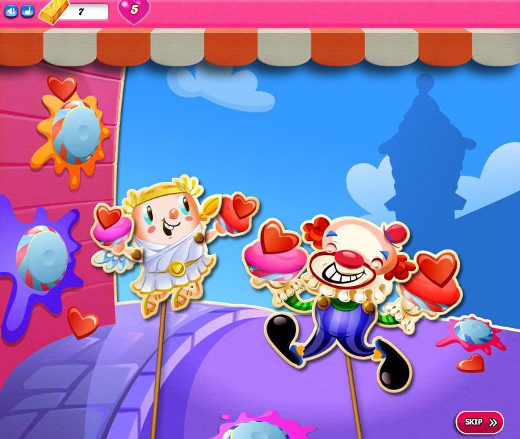 Candy Crush Saga level 2271-2285