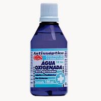 Resultado de imagem para água oxigenada antisséptico