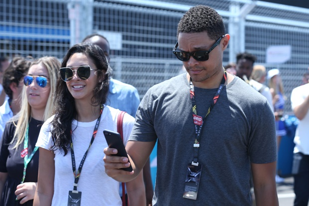 Pics Trevor Noah And His Girlfriend Out And About In New York